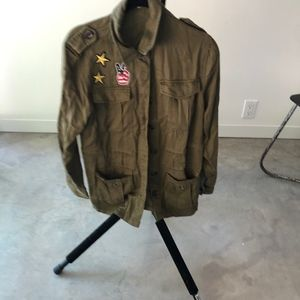 HONEY PUNCH military jacket